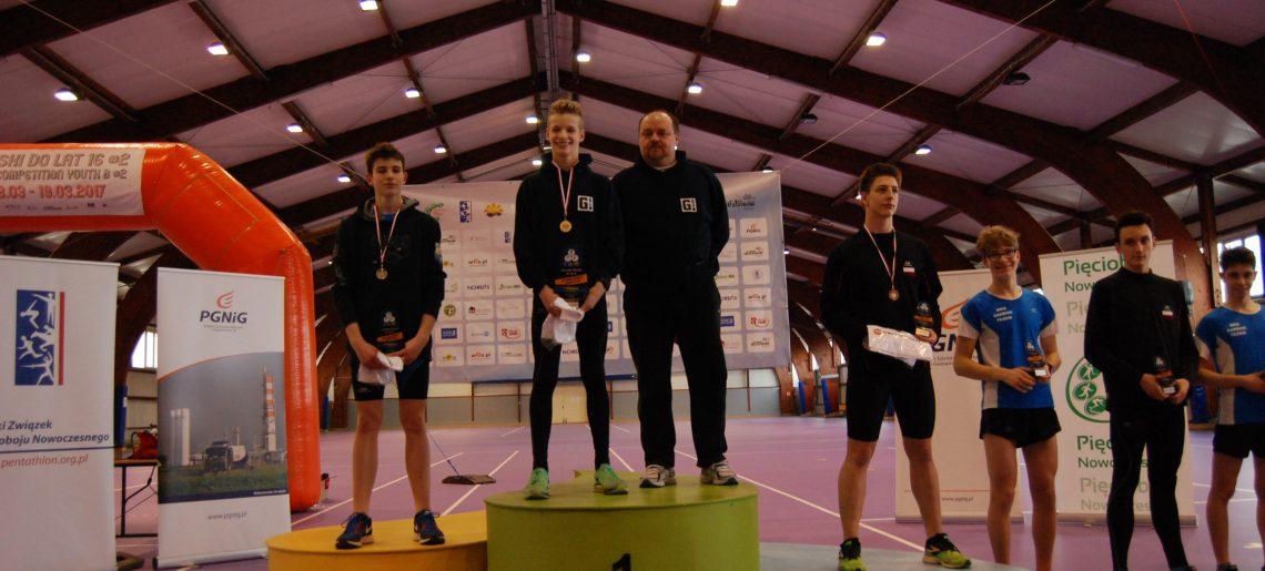 Gerard Machel i Kajetan Gontowiuk na podium Pucharu Polski Juniorów Młodszych